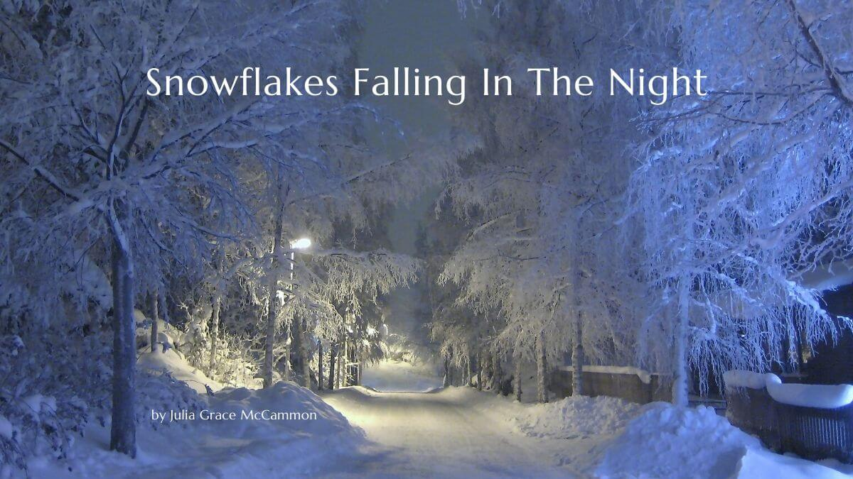 Snowflakes Falling In The Night