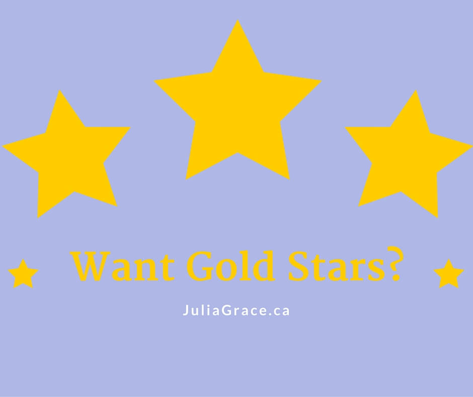 Wanting Gold Stars Approval?