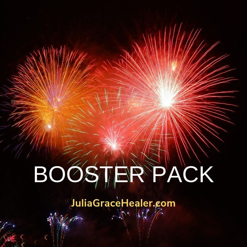 BOOSTER - 3 Private sessions & 1 weekly Life Force energy transmission over 3 weeks