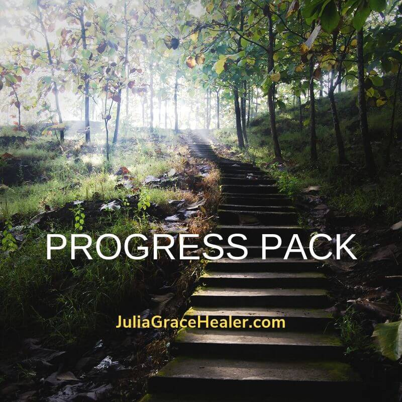 PROGRESS - 3 Private sessions & 1 weekly Life Force Energy transmission for 3 months
